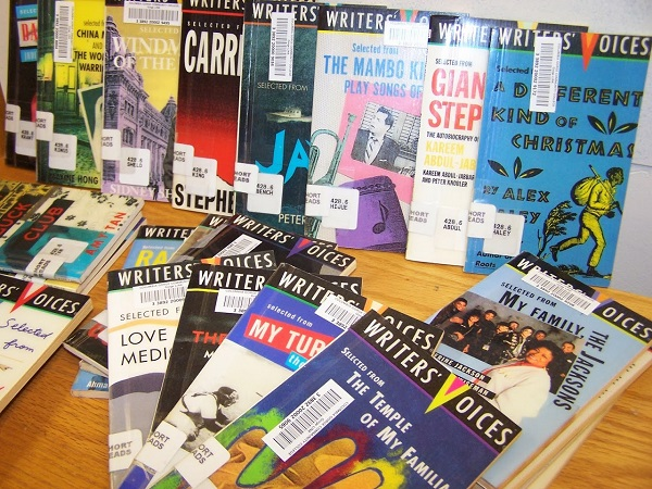 Writers Voices collection