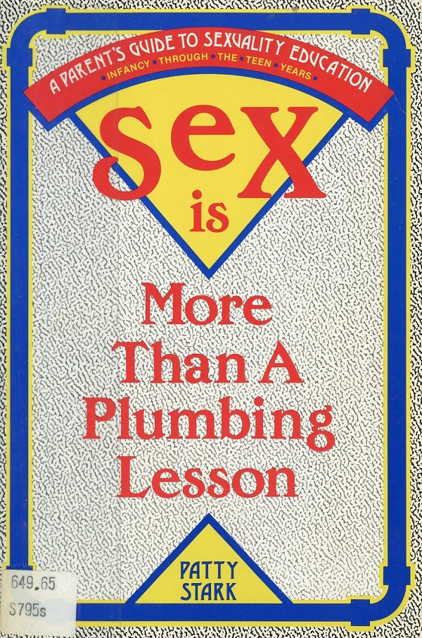 Sex is more than a plumbing lesson - cover