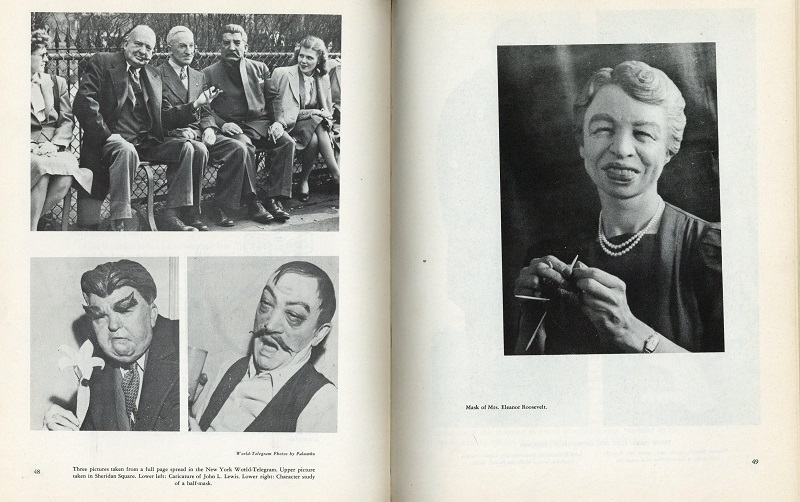 Eleanor Roosevelt mask