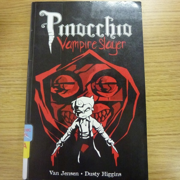 Pinocchio Vampire Slayer cover