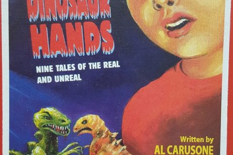 Boy with Dinosaur Hands cover