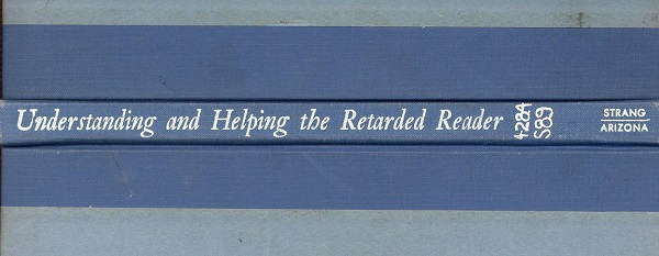 Understanding and Helping the Retarded Reader