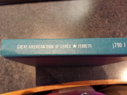 Great American Book of Games