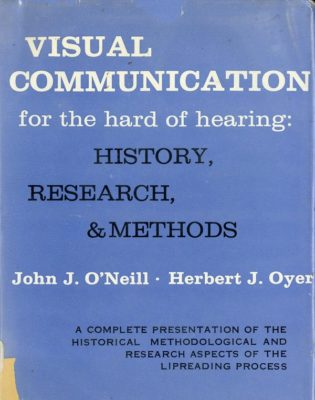 Visual communication for the hard of hearing cover