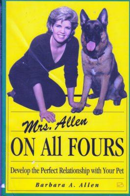 Mrs. Allen On All Fours