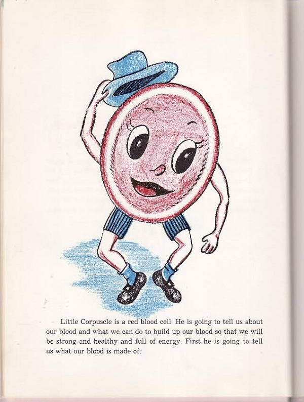 Little corpuscle is a red blood cell