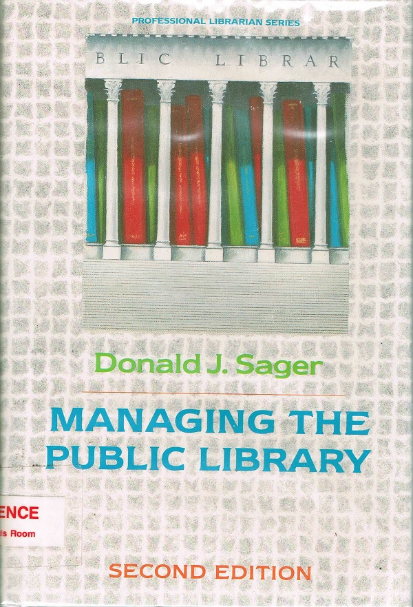 Managing the Public Library cover