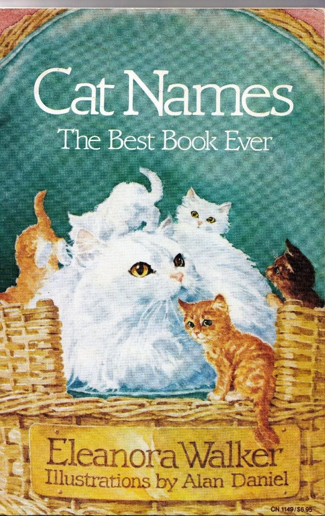 cat names cover