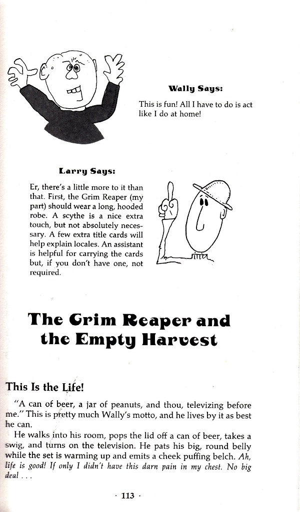 Mime Time - Grim Reaper and the Empty Harvest