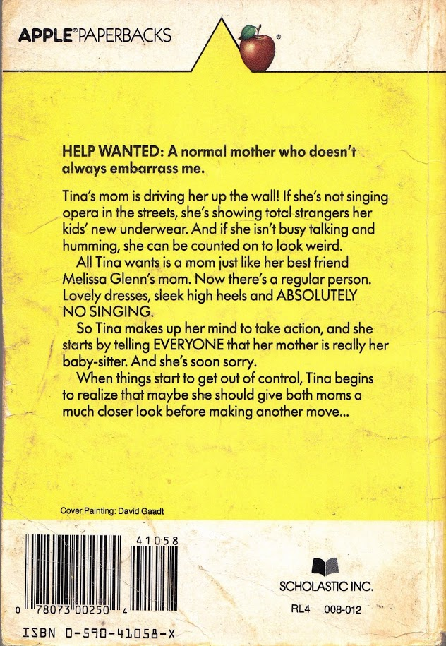 Mom, you're fired back cover and summary