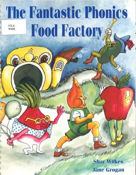 Fantastic Phonics Food Factory cover