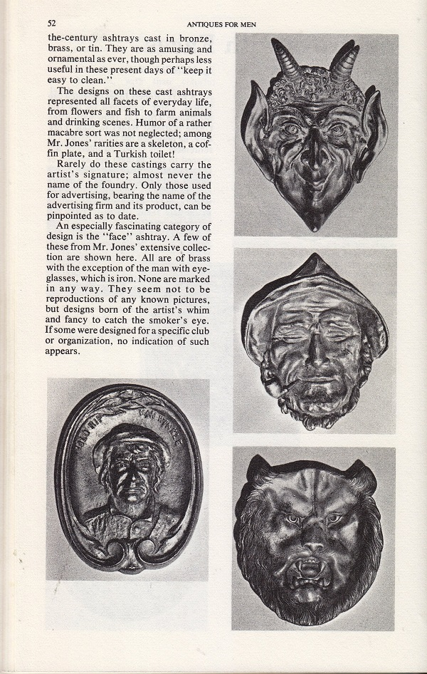 ashtrays with faces