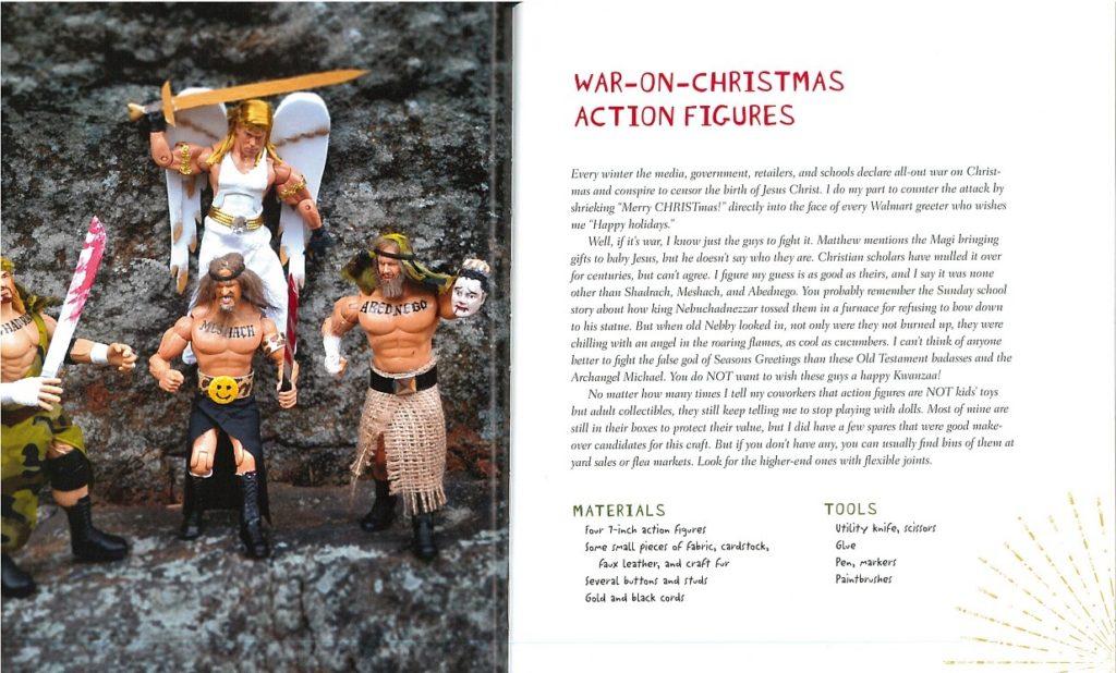 war on Christmas action figures