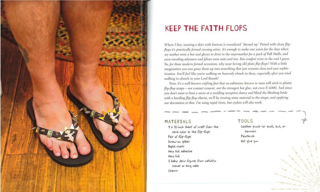 sandals crafts