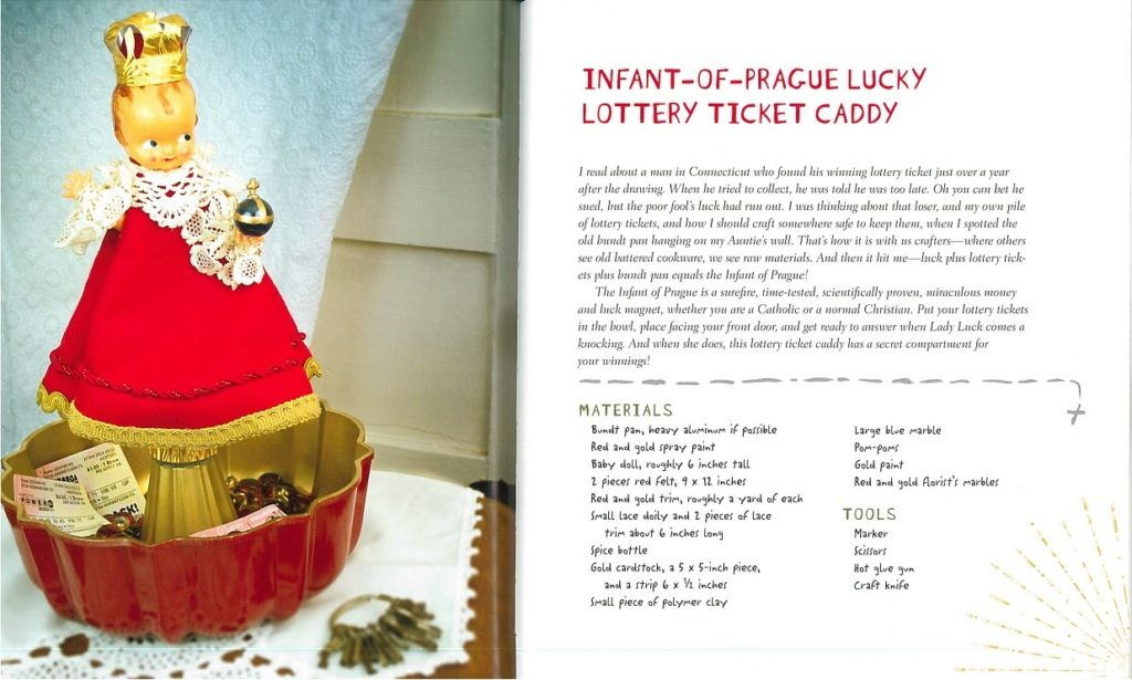 lottery ticket caddy