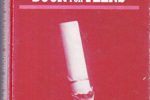 Stop Smoking Book for Teens cover