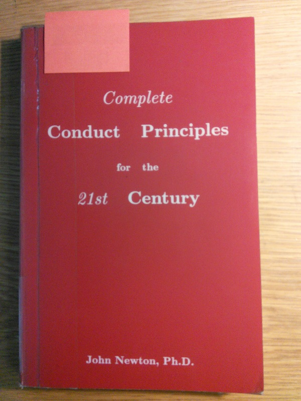 Conduct Principles cover