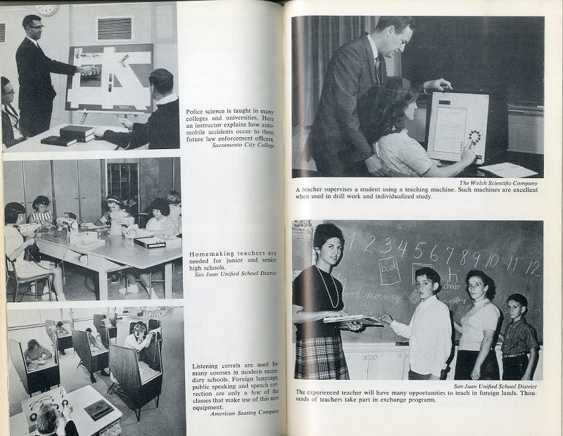 Pictures of teachers in classrooms