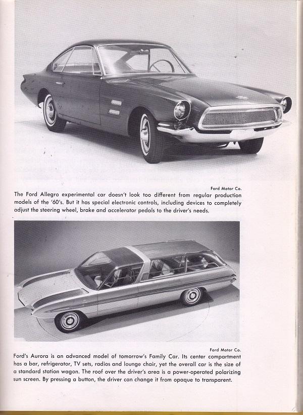 Ford Allegro and Aurora