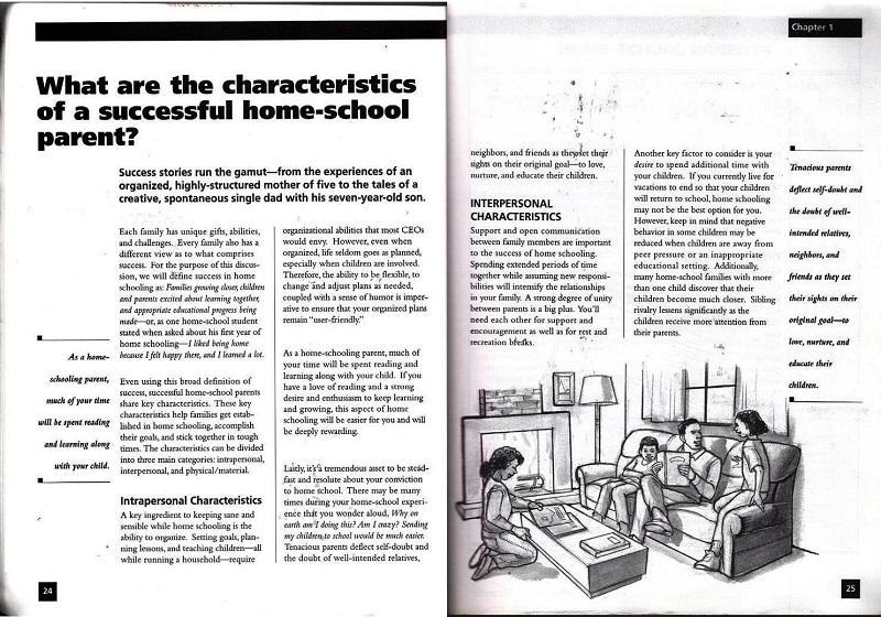 characteristics of successful homeschool parents