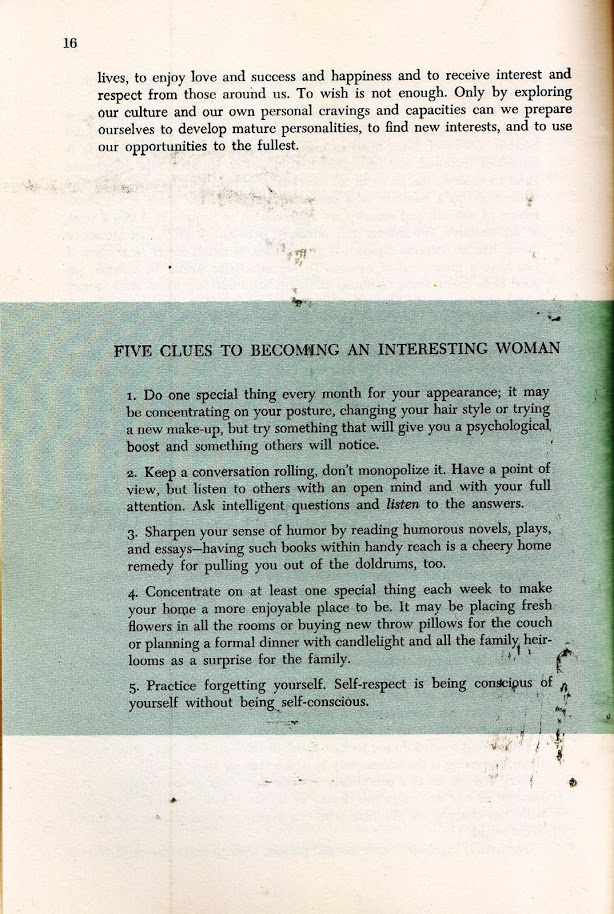 5 clues to becoming interesting