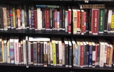 Crowded shelf