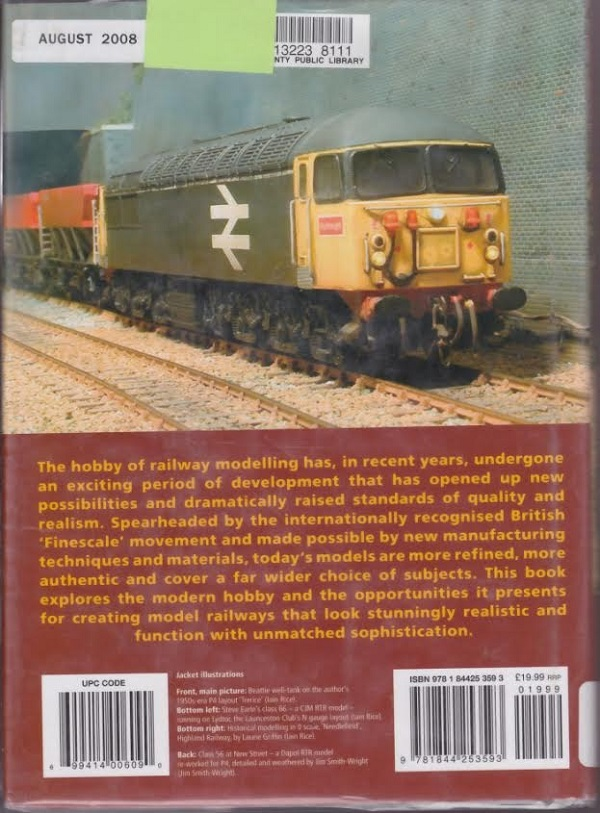 Railway Modelling back cover