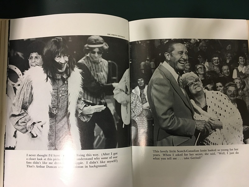 Lawrence Welk as a hippie