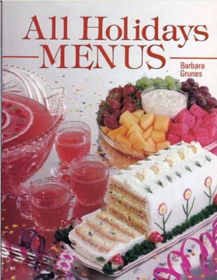 Holiday Menus cover