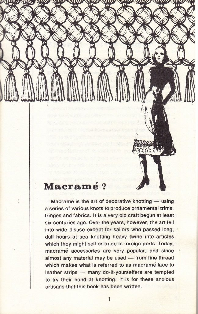 what is macrame