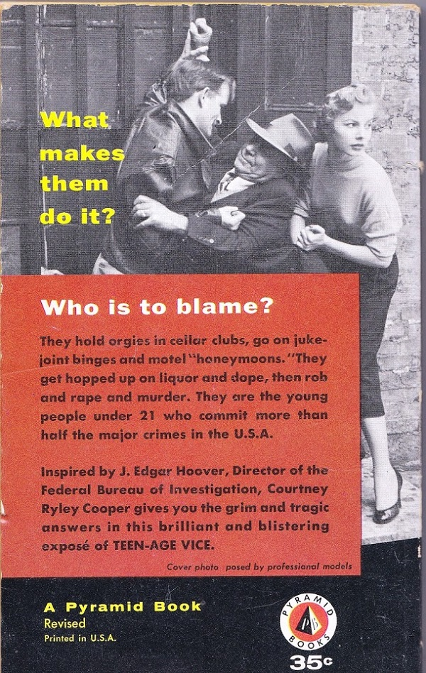 Teen-Age Vice back cover