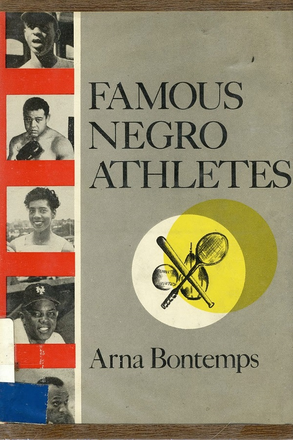 Famous Negro Athletes - cover
