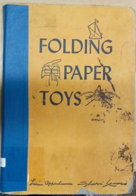 Folding Paper Toys cover