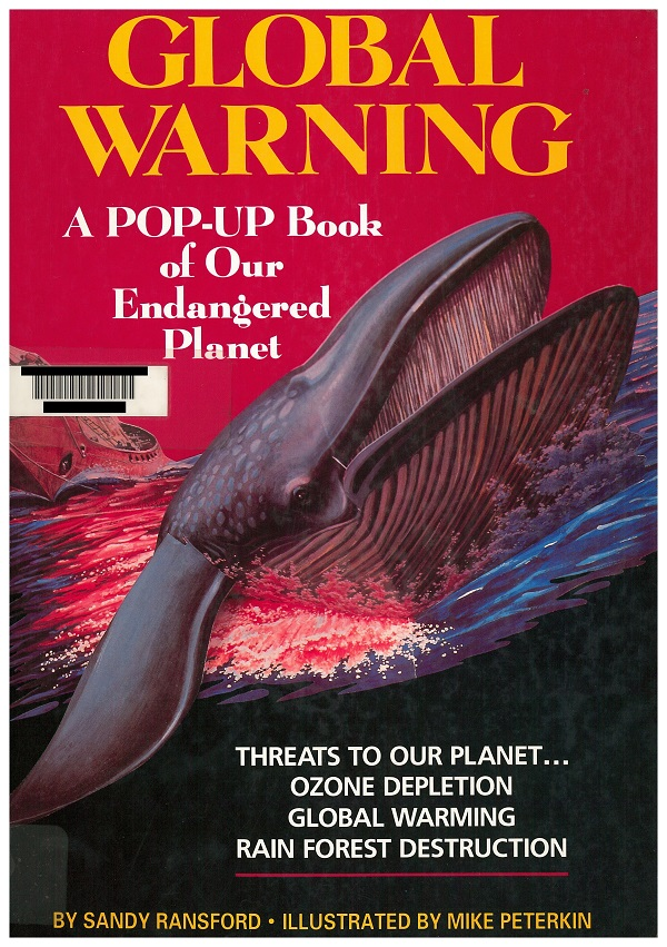Global Warning Pop-Up Book - Cover