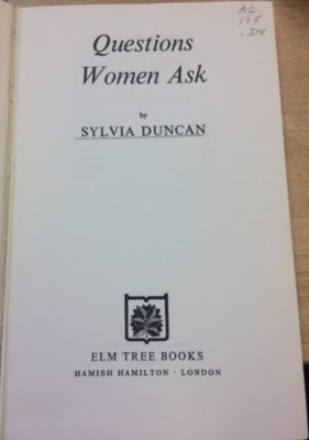 questions women ask title page