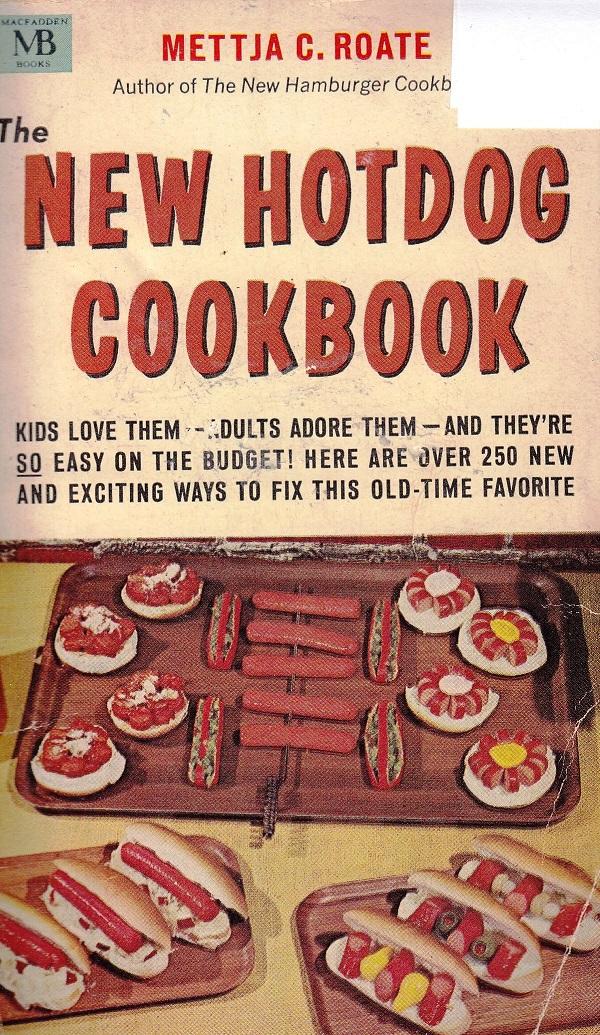 New Hotdog Cookbook - cover