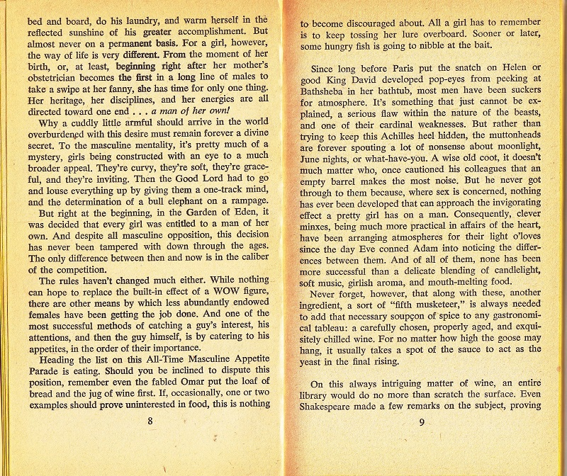 Pages 8 and 9