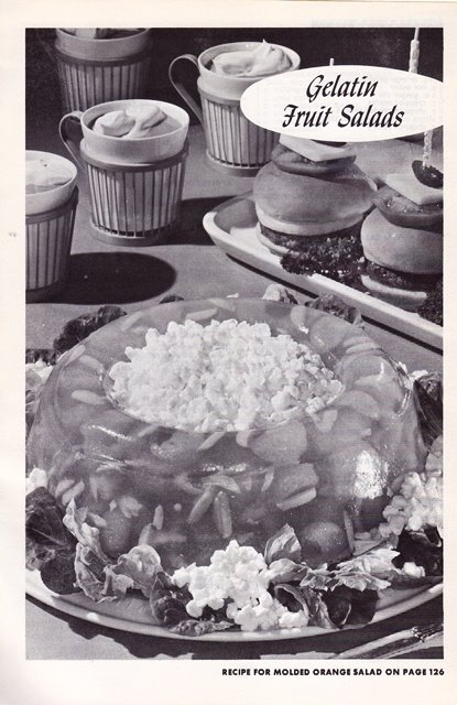 cottage cheese and orange salad mold
