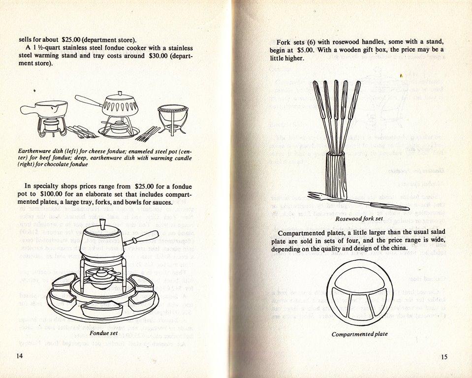 fondue equipment