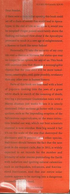 Apocalypse 2012 inside flap