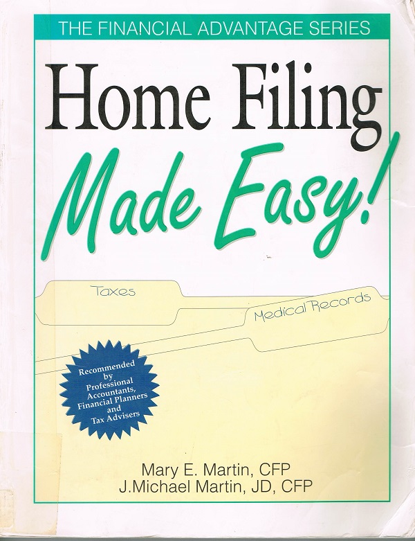 Home Filing Made Easy cover
