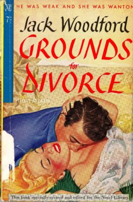 """pulp novel cover """"grounds for divorce"""""""