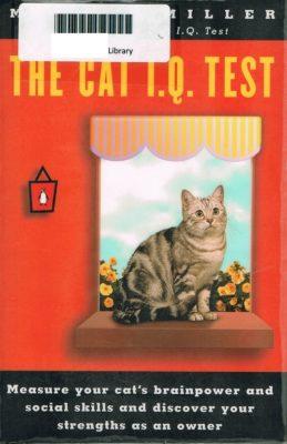 The Cat IQ Test cover