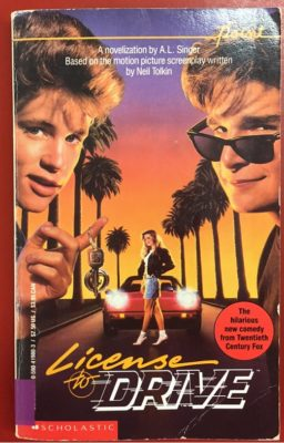 License to Drive cover