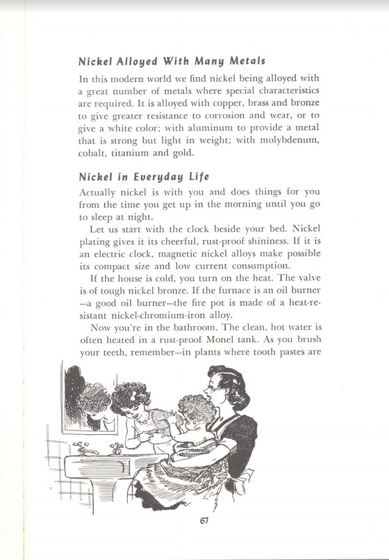 Nickel in everyday life