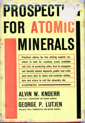 prospecting for atomic materials cover
