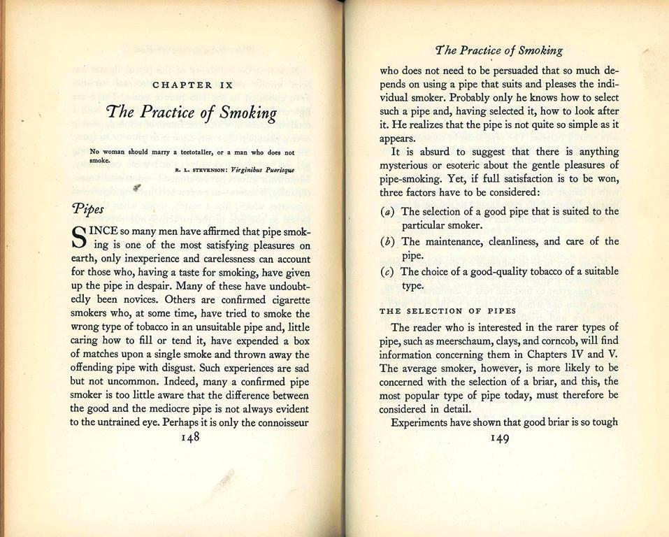 practice of smoking