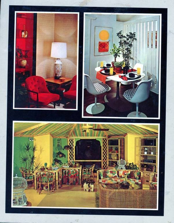 interior yello and red rooms