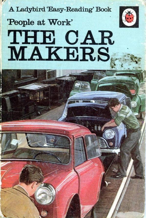 ladybird car makers book cover