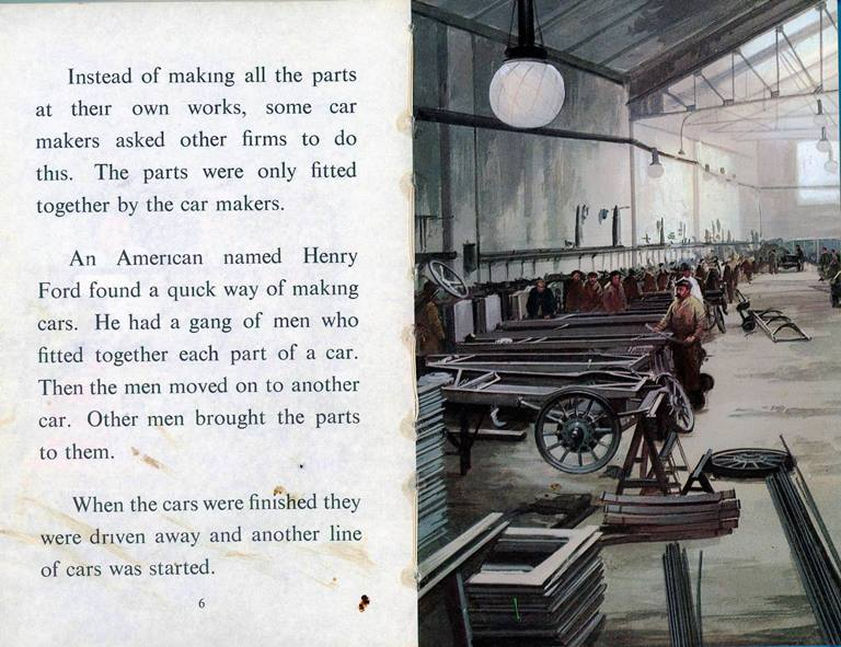 assembly line for cars-historical